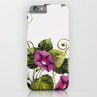 iPhone & iPod Case featuring Morning Glory 2 by Glashka
