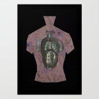 Skin1 Art Print