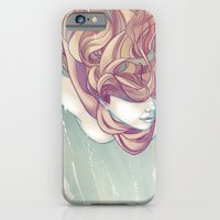 iPhone & iPod Case featuring Free Falling by Mayumi Haryoto