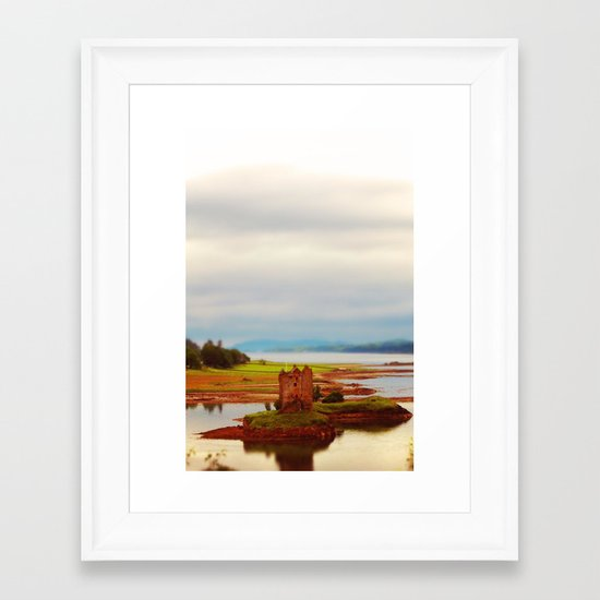 Castle Stalker (Scotland) Framed Art Print