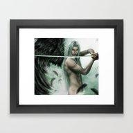 General Sephiroth Framed Art Print