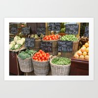City Market Art Print