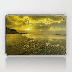 Golden sunrise Laptop & iPad Skin