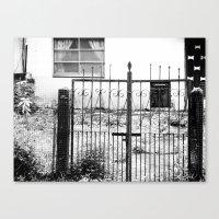 Iron Gate Canvas Print