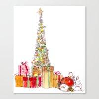 Season Of Gifts Canvas Print