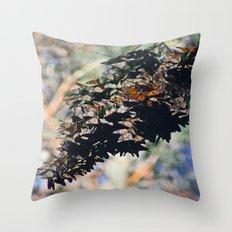 Butterfly Branch Throw Pillow