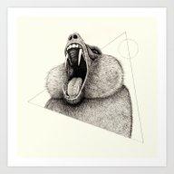 'Wildlife Analysis III' Art Print