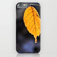Orange Leaf iPhone 6 Slim Case