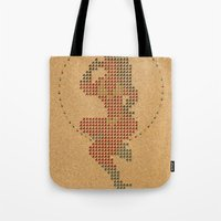 Push Pin Up Tote Bag