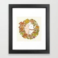 Beauty & Life Framed Art Print