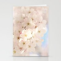 spring has begun Stationery Cards