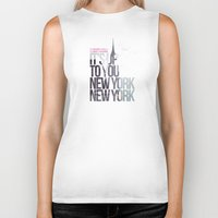 It's up to you [New York] Biker Tank