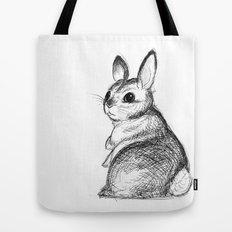 Ballpoint Bunny Tote Bag