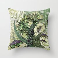 jungle 2 Throw Pillow
