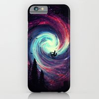 adventure iPhone & iPod Cases featuring Adventure Awaits by nicebleed