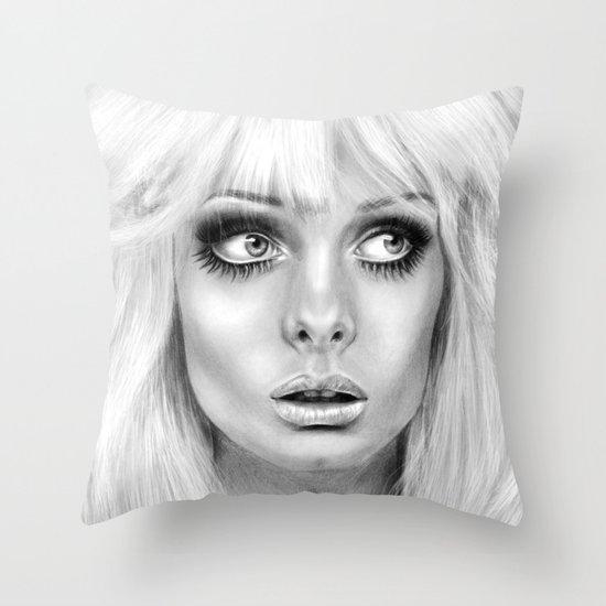 + BAMBI EYES + Throw Pillow