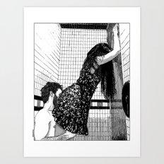 asc 522 - La belle majorquine I (Roser Amills I)  Art Print