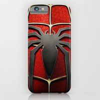 iPhone & iPod Case featuring Spiderman by Kit4na