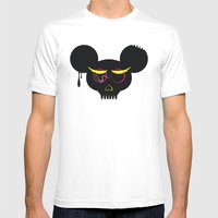 Rat Poison Mens Fitted Tee White SMALL