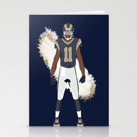 RAMpage - Tavon Austin Stationery Cards