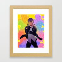 Reach Out To The Truth Framed Art Print