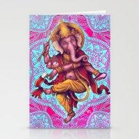 Ganesha (Color Variation 5) Stationery Cards