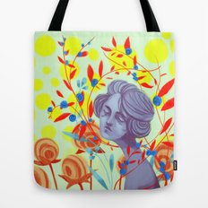 queen of peace Tote Bag