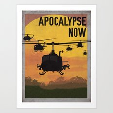 Apocalypse Now Art Print