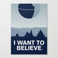 My I Want To Believe Min… Canvas Print