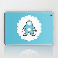 blue gigant Laptop & iPad Skin