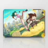 A ride with Son Goku iPad Case