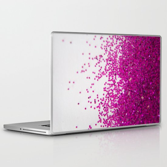 Fun I (NOT REAL GLITTER) Laptop & iPad Skin