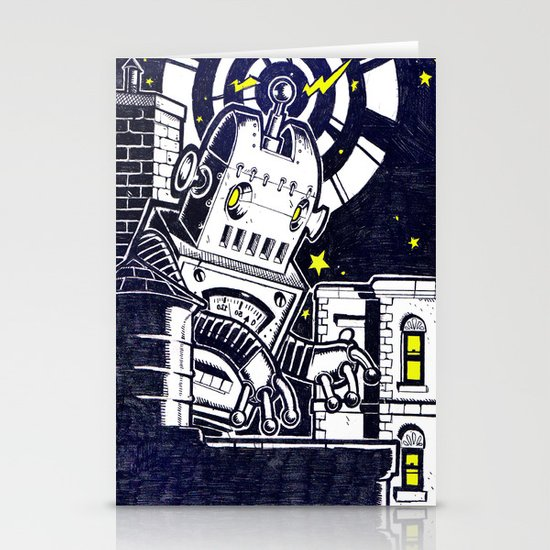 ROBO ATTACK! Stationery Card