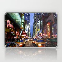 'Times Square NYC' Laptop & iPad Skin