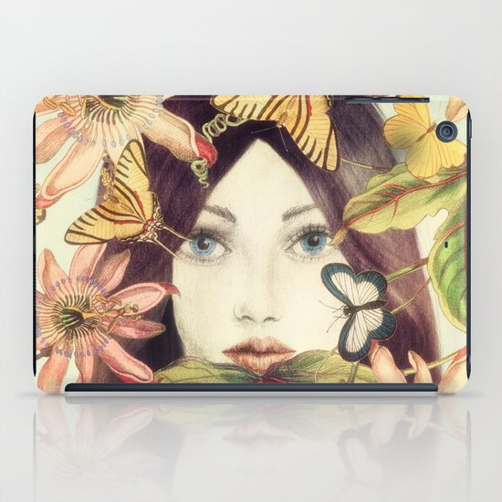 Whispers From A Secret Garden iPad Case