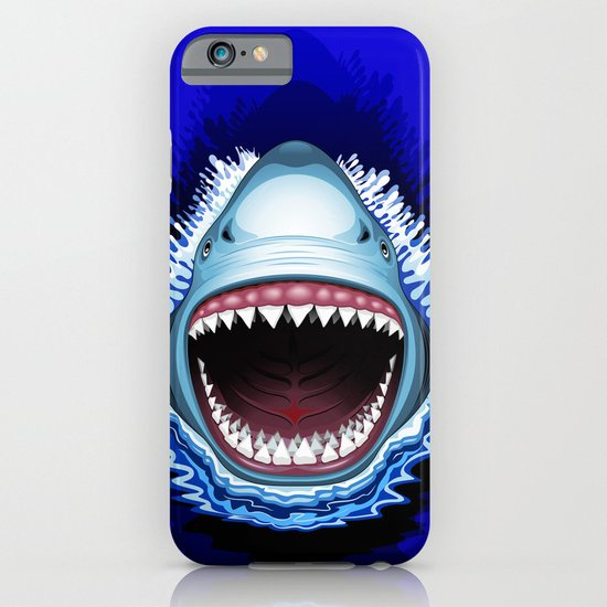 Shark Jaws Attack iPhone & iPod Case