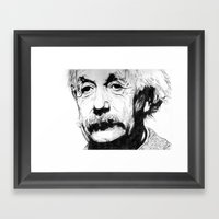 Albert Einstein Framed Art Print