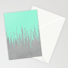 Fringe Concrete Mint Stationery Cards