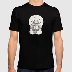 Buda  Black SMALL Mens Fitted Tee