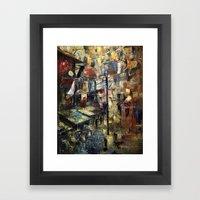 Çarşı Framed Art Print