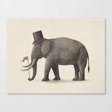 Elephant Day  Canvas Print