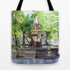 Old Fountain at Split, Croatia Tote Bag
