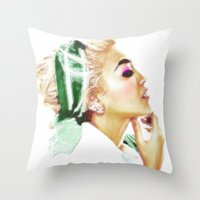 THOUGHT OF A WOMAN Throw Pillow