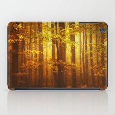 Yellow Fall iPad Case