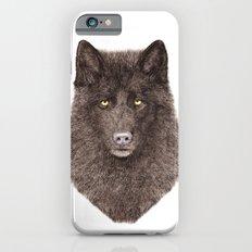 Black Wolf iPhone 6 Slim Case