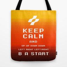 keep calm konami. Tote Bag