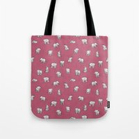 Indian Baby Elephants In… Tote Bag