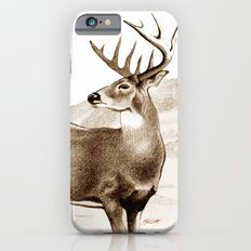 White-tailed Stag Sniffing the Air iPhone 6s Slim Case
