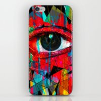 Useless Eyes iPhone & iPod Skin
