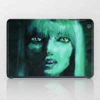 THE GREEN QUICK PORTRAIT iPad Case